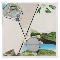 De tentoonstelling 'In the Land of the Giants' presenteert zes nieuwe schilderijen en een selectie tekeningen van Jo Baer (Seattle, 1929). Baer behoorde in de jaren '60 en '70 tot de pioniers van de 'minimal art', met generatiegenoten als Donald Judd en Sol LeWitt.   See more at: www.stedelijk.nl/agenda/tentoonstelling-jo-baer-in-the-land-of-the-giants