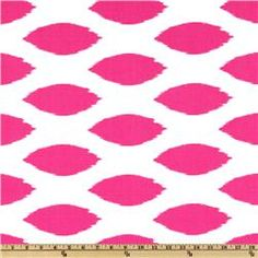 Premier Prints Chipper Candy Pink/White