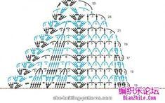 ABC Knitting Patterns - Dawn in the Woods Shawl Bonnet Crochet, Crochet Poncho, Crochet Scarves, Crochet Clothes, Chrochet, Crochet Shawl Diagram, Crochet Motif, Crochet Flowers, Crochet Lace
