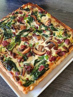 Quiche Recipes, Tart Recipes, Veggie Recipes, Healthy Recipes, Batch Cooking, Easy Cooking, Cooking Recipes, Sports Food, Good Food