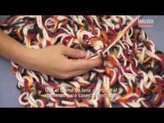 Tutorial de Cordón tejido con los dedos - YouTube