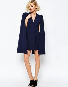 Image 4 ofLavish Alice Split Back Cape Dress