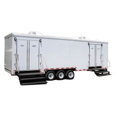 Are Portable Toilet Trailers Cleaner than Public Restrooms? - It seems as though whenever you leave the relative safety of the clean bathroom in your own home, there is always a risk of encountering a much less sanitary facility elsewhere. Public restrooms are provided as a convenience for shoppers at malls and in food courts, and for diners at restaurants, and at a great many other public venues as both a courtesy and an intentional strategy to keep you on the premises.