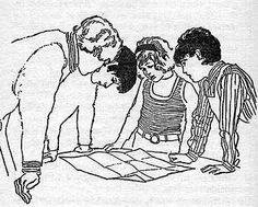 Famous Five World Illustrations