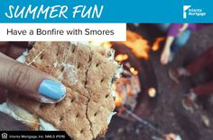 A summer bonfire would not be complete without smores! Gather your friends & enjoy these sweet treats while making memories! Summer Bonfire, Summer Fun, Making Memories, Sweet Treats, Friends, Desserts, Food, Amigos, Tailgate Desserts