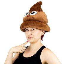 Poop Emoji Hat (12 types available)