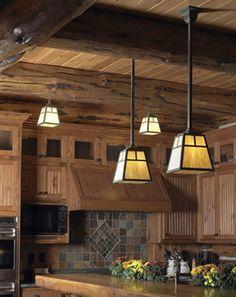 Craftsman Style Pendant Kitchen