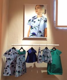 Created by a womenswear designer the Senorita Lemoniez is becoming a very popular kids fashion label, green and blue are key colours for spring 2016