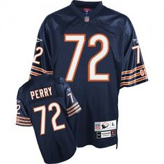 1a1c8cf5563 William Perry Jersey, Retired #72 Chicago Bears Authentic Jersey in Navy  Dwyane Wade Jersey
