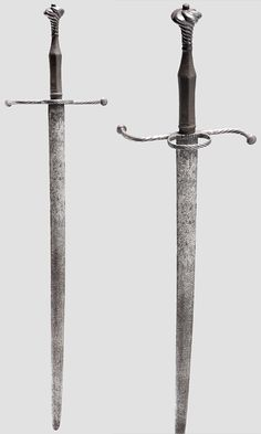 German hand-and-a-half sword Circa 1520