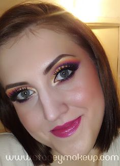 colorful  makeup- for my sister