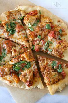Gluten Free Chicken Tikka Masala Pizza by Nutmeg Nanny