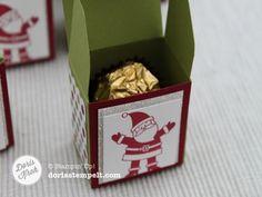 Schachteln mit dem Envelope Punch Board