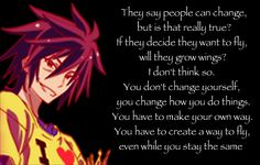 no game no life sora quotes - Google Search