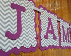 Jamberry Banner, Jamberry Nails Sign, Purple and Chevron