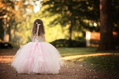 The Anna Grace Princess Birthday Dress (shown in Pink & Silver Sequin)
