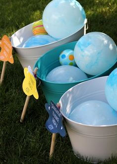 One Charming Party | Birthday Party Ideas › outer space party activities
