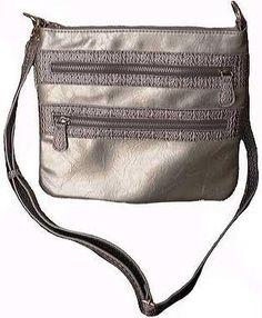 Fashion Multi Zipper Messenger