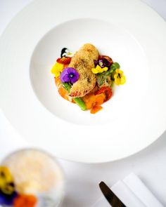 A sneak peek at our stunning #ChelseaFlowerShow specials - watch out for them on the menu next week!