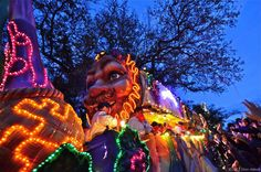 Bacchus Parade New Orleans