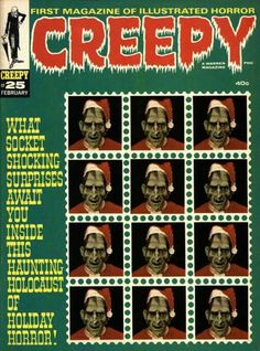 Cover for Creepy (Warren, 1964 series) #25  February 1969