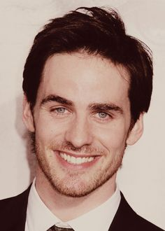 Colin O'Donoghue. You know I actually prefer the guyliner Colin more but this is still good.