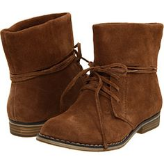 Mia Brown Suede Boots
