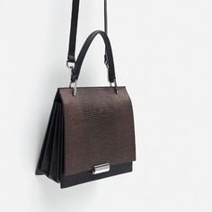 Image 4 of MINI EMBOSSED CITY BAG from Zara