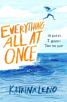 #CoverReveal Everything All At Once by Katrina Leno