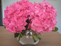 Hydrangea Table Arrangements | Flower care in your home...