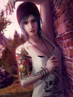 Image via We Heart It https://weheartit.com/entry/193807902 #chloe #cigarette #fanart #is #life #price #strange #tatoo