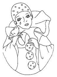 194 meilleures images du tableau pierrot et colombine clowns coloriage et dessins - Coloriage pierrot ...