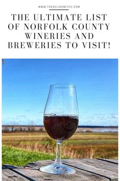 It's hard for me to think of an Ontario wine region that is emerging faster than Norfolk County. Here are tips and advice for creating a Norfolk, Ontario wine and beer tour! #ontariotravel #winetravel #beertravel #norfolkcounty Canadian Travel, Canadian Rockies, Norfolk County, Ontario Travel, Short Trip, Work Travel, Discount Travel, Cool Places To Visit, Travel Guides