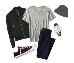 """""""Untitled #179"""" by sara-benesova on Polyvore featuring Topshop, Banana Republic, Lands' End, Converse, Portolano, mens, men, men's wear, mens wear and male"""