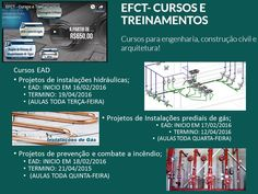 COMBO DE CURSOS (HIDRÁULICA   INCÊNDIO   GÁS) - R$ 1.560,00 Adquira o combo e ganhe o curso Projetos de infraestrutura de saneamento (drenagem Urbana, rede doletora de esgoto, sistema de abastecimento de água) (vídeo aulas) EFCT - Cursos e Treinamentos Acompanhe a programação em nosso facebook: https://www.facebook.com/efct.cursosetreinamentos/?ref=hl  Saiba mais sobre nossos cursos aqui: http://efct.edools.com/