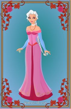 Valentine's day Elsa by CartoonNetworkgal on deviantART