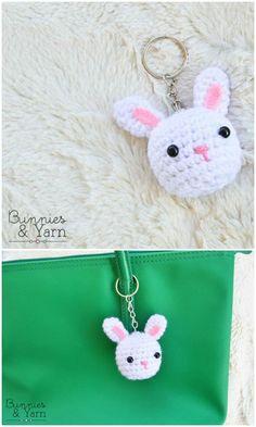Mesmerizing Crochet an Amigurumi Rabbit Ideas. Lovely Crochet an Amigurumi Rabbit Ideas. Crochet Rabbit, Crochet Bunny, Free Crochet, Crochet Flowers, Knit Crochet, Crochet Patterns Amigurumi, Crochet Dolls, Crochet Keychain Pattern, Crochet Hook Set