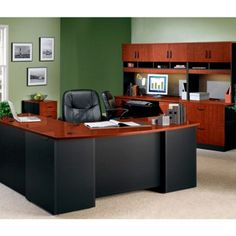Pinterest | Office Desk With Hutch, Office Desks and Office Furniture