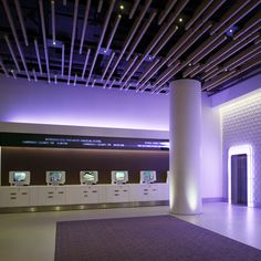 Hotel brand Yotel have opened a flagship branch in New York's Times Square, where visitors check in at computerised kiosks while their luggage is stored or retrieved by a giant robotic arm.