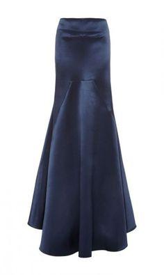 X-def not front seams! M'O Exclusive: Nomadic Satin Maxi Skirt by Ellery - Moda Operandi Modest Fashion, Hijab Fashion, Fashion Dresses, Mode Abaya, Mode Hijab, Skirt Outfits, Dress Skirt, Kebaya Dress, Full Skirts