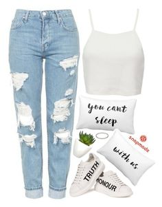 """""""Snapmade"""" by emilypondng ❤ liked on Polyvore featuring Topshop, Alexander McQueen, Pull&Bear, Pomax and Forever 21"""