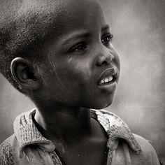 Young Rwandan refugee boy, East Province, Rwanda.