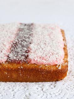 Iced VoVo Cake by raspberri cupcakes. So old school, I love it!