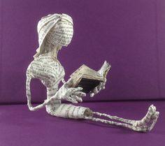 Book sculpture, Book art,  The Historian, paper sculpture, paper art, Dracula, Little reader, book lover, repurposed book, librarian The Poet Trees via etsy.com