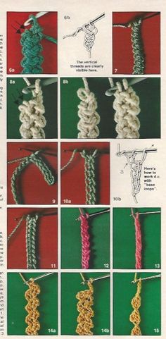 Romanian Point Lace crochet cords and braids in Anna Burda magazine, March 1981