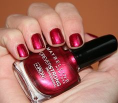 Maybelline Volcanic Red my-nail-polish-collection