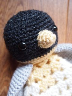 Amigurumi+Penguin+Security+Blanket+Lovey+PDF+Crochet+by+HamAndEggs,+$1.99
