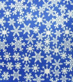 Noel Collection-Christmas Snowflakes Blue