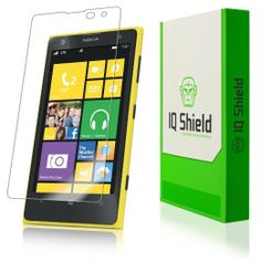 IQ Shield LIQuidSkin - Nokia Lumia 1020 Screen Protector - High Definition (HD) Ultra Clear Phone Smart Film - Premium Protective Screen Gua...