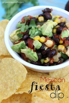 Mexican Fiesta Dip a